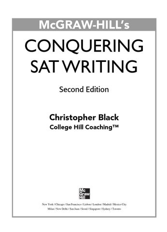 textbook writing illustration essay chapter by merrill glustrom  preview conquering sat writing