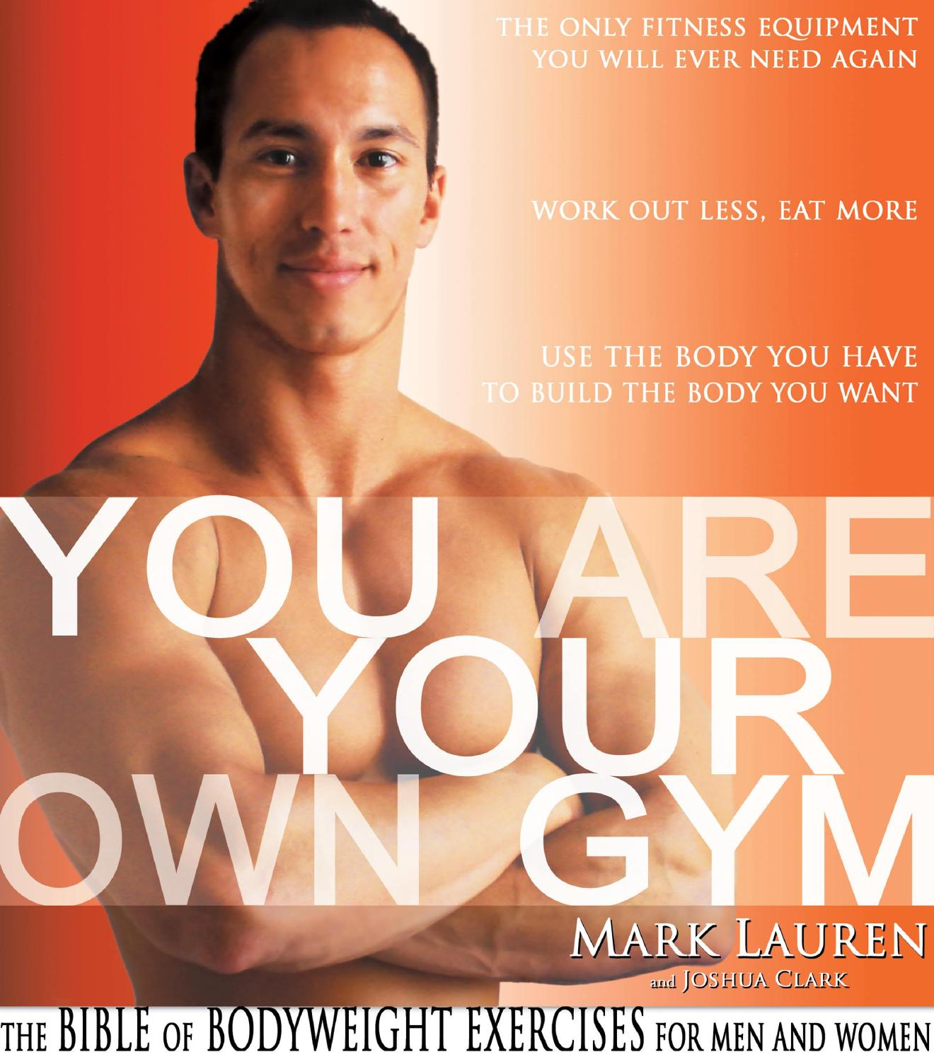 abba2e0541 You are your own gym the bible of bodyweight exercises for men and women by  La Dame Aux Camélias - issuu