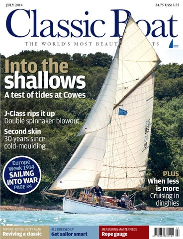 9800f603660d Classic Boat July 2014 by The Chelsea Magazine Company - issuu