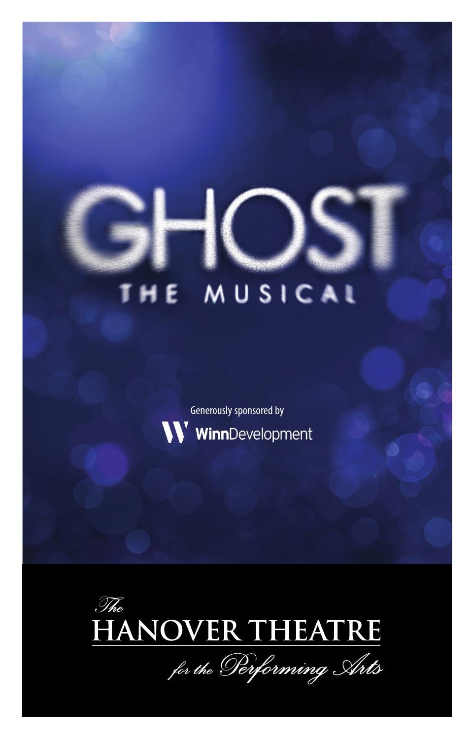 Ghost The Musical Program By Thehanovertheatre Issuu