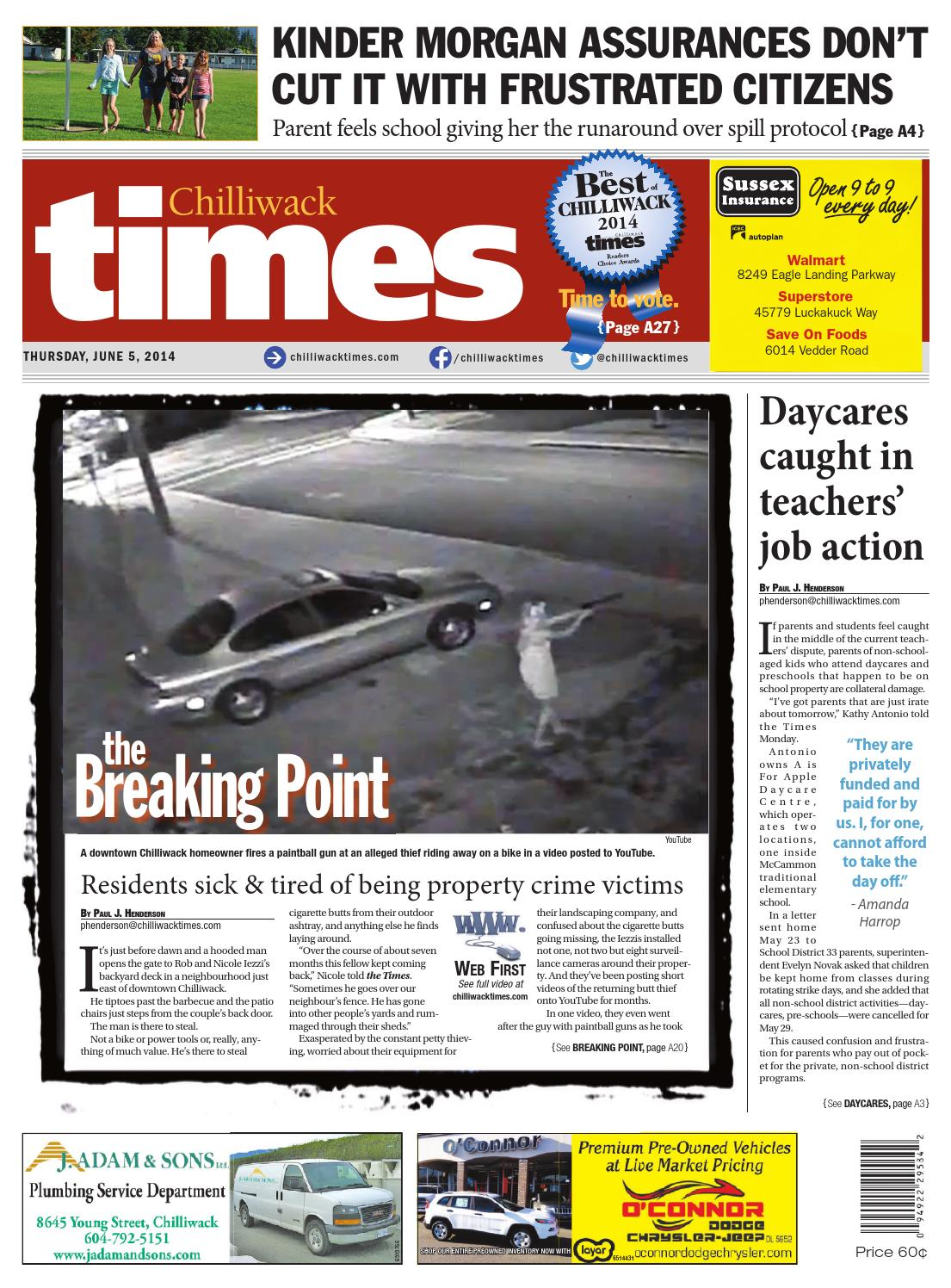 Chilliwack Times June 05 2014 by Chilliwack Times - issuu
