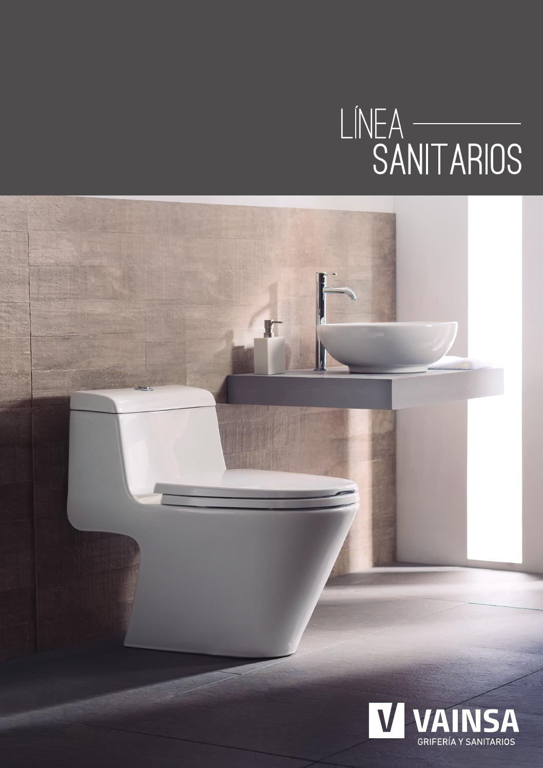 Catalogo sanitarios 2014 by vainsa grifer a y sanitarios for Capea sanitarios catalogo