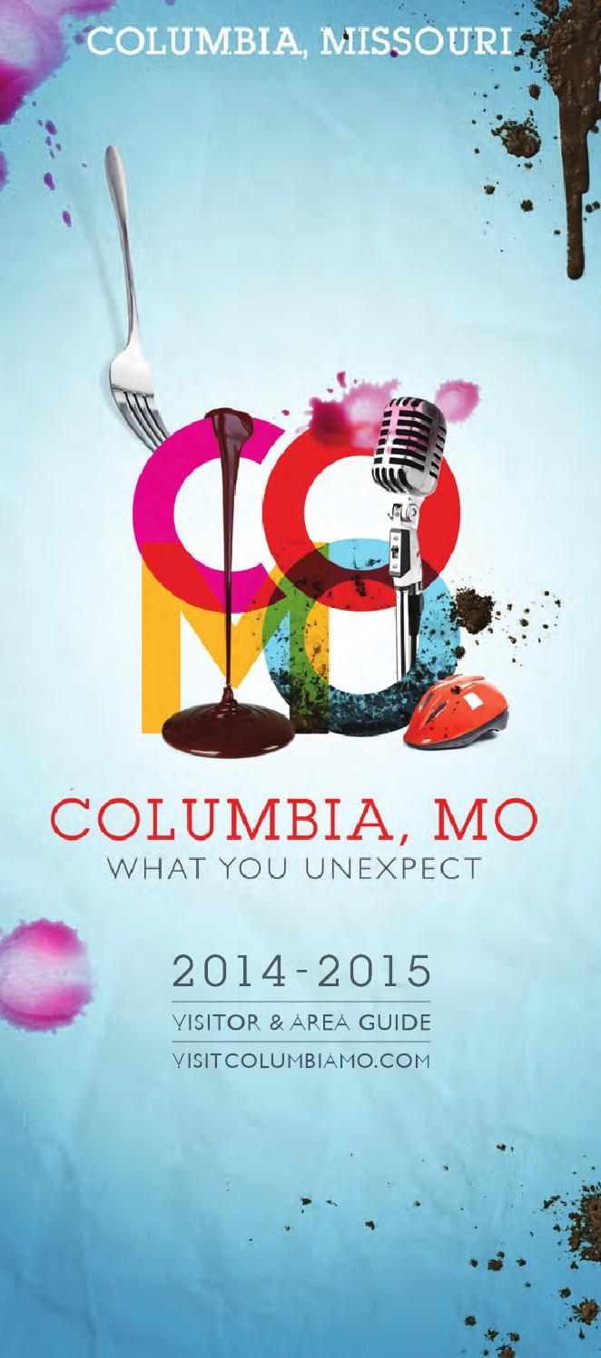 2014-2015 Columbia Missouri Visitor & Area Guide by Maximum Media ...