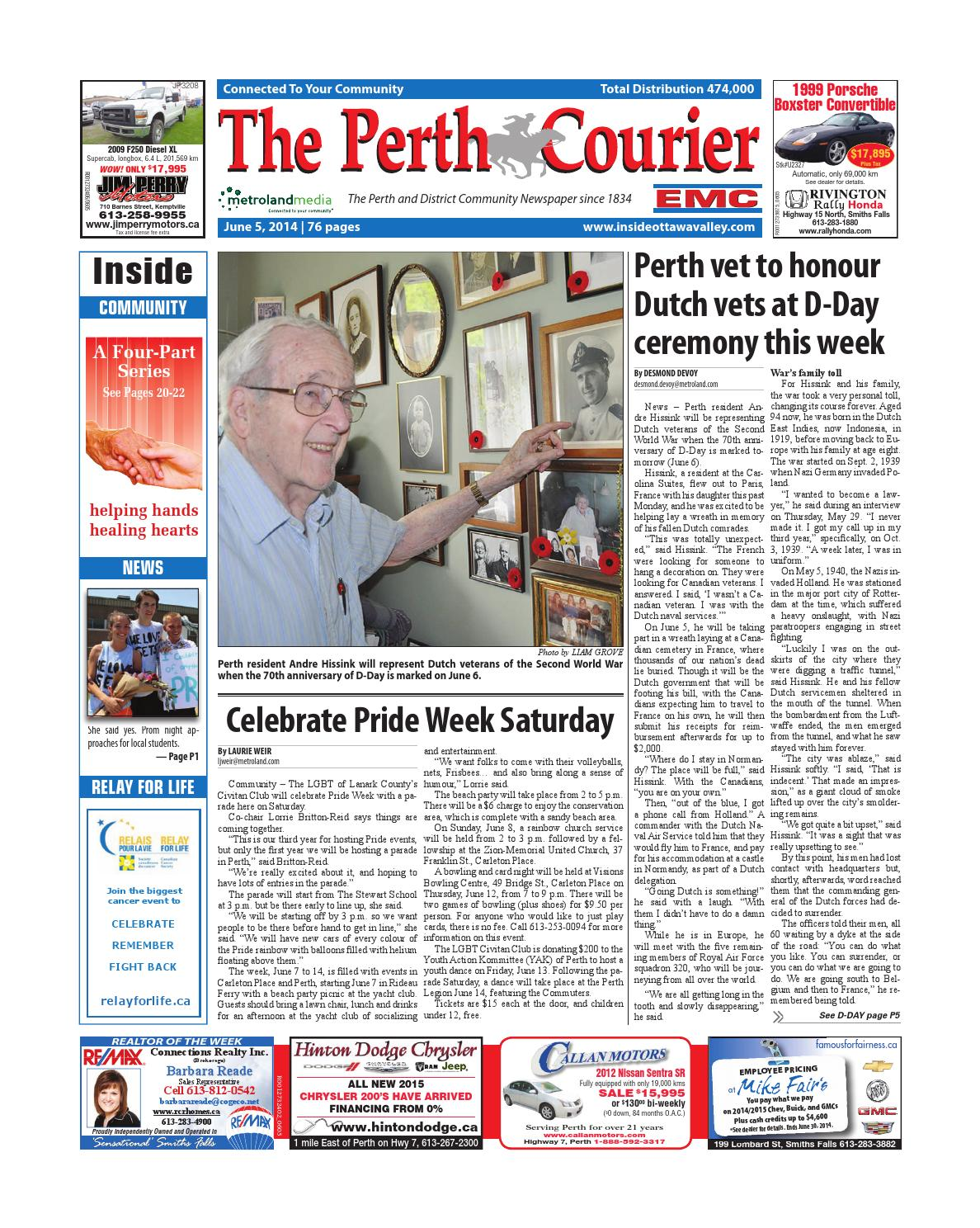 d88d0dfebdc10 Perth060514 by Metroland East - The Perth Courier - issuu