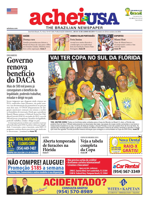 de01ff432f AcheiUSA 508 by AcheiUSA Newspaper - issuu