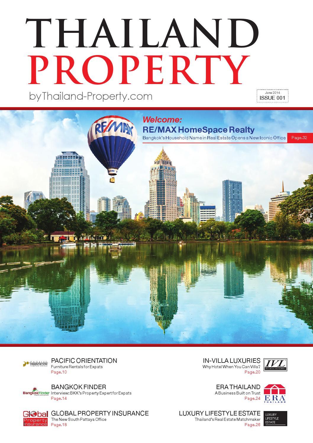 Thailand Property Magazine Issue 0001 By Thailand