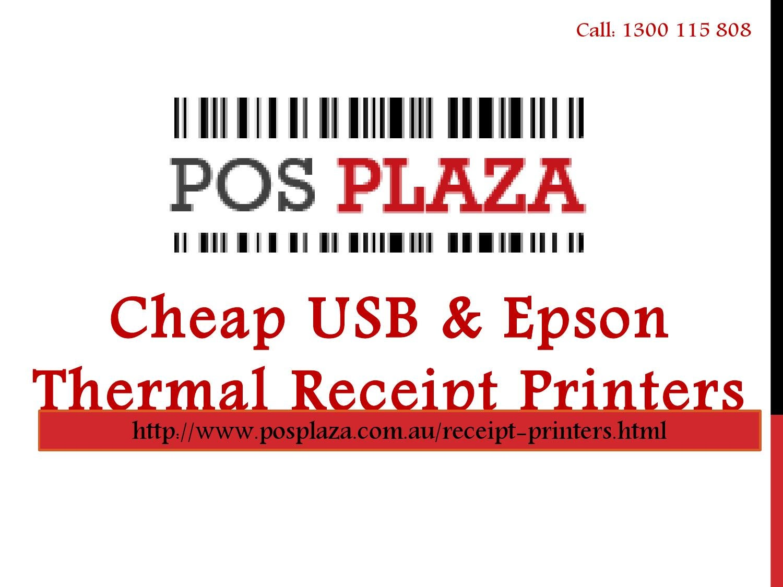 Cheap USB & Epson Thermal Receipt Printers by Alex Thomson