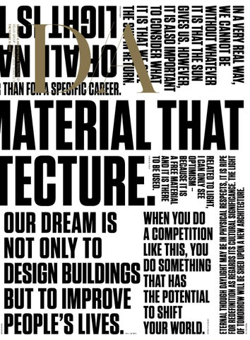 The Future Is Light 21 Daylight And Architecture Magazine By