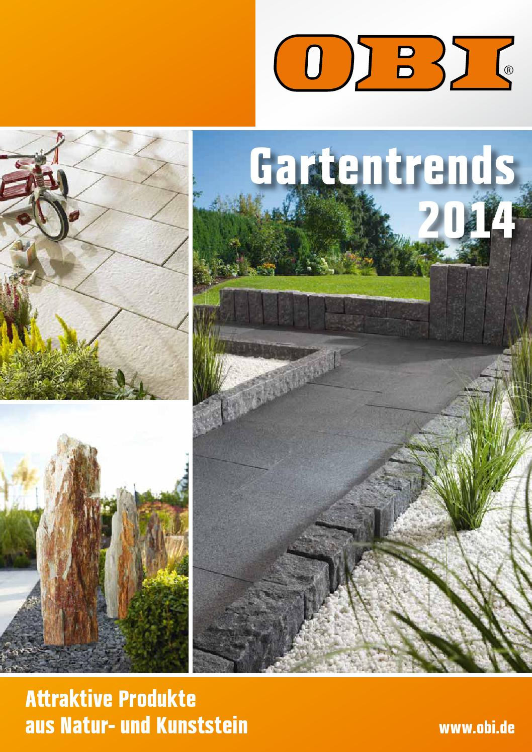 Gartentrends 2014 By Obioehringen Issuu