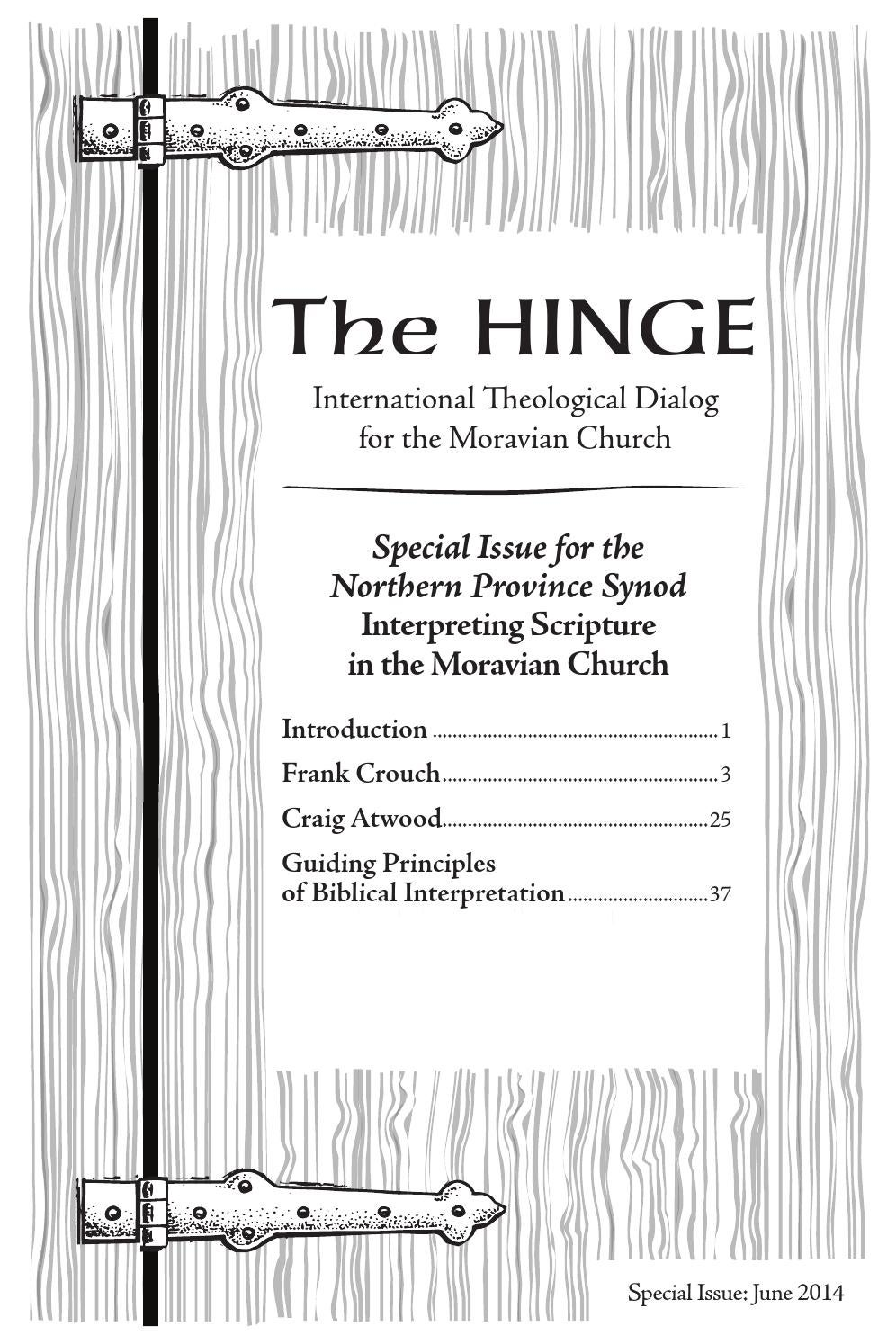 The Hinge Special Edition_Northern Province Synod