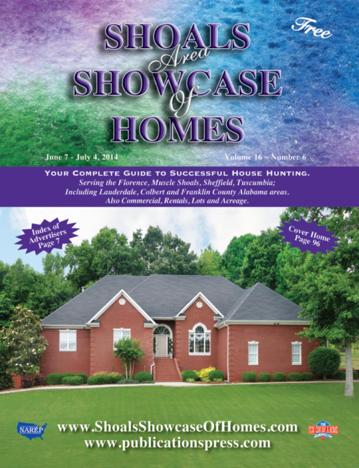 Shoals Area Showcase of Homes, Vol. 16, No. 6 by Publications Press - issuu