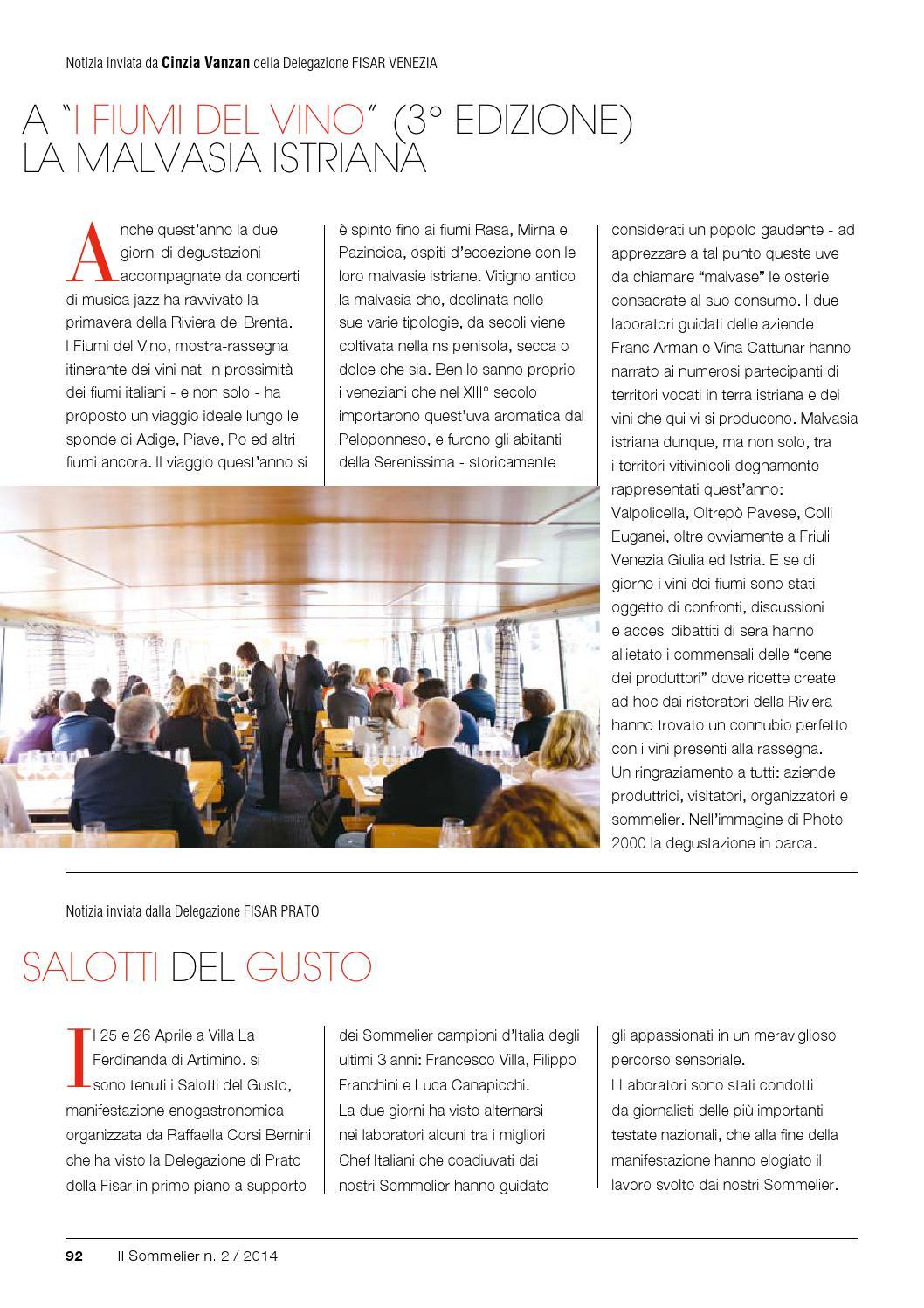 I Salotti Del Gusto.Il Sommelier 2 2014