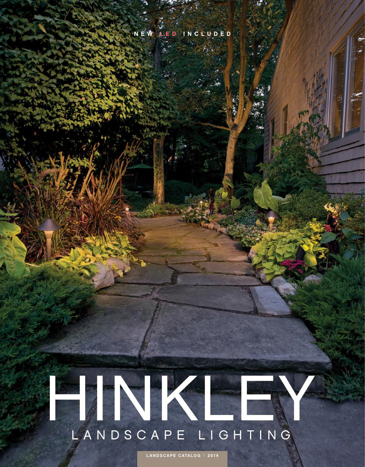 Hinkley Landscape Lighting 2017 By Issuu