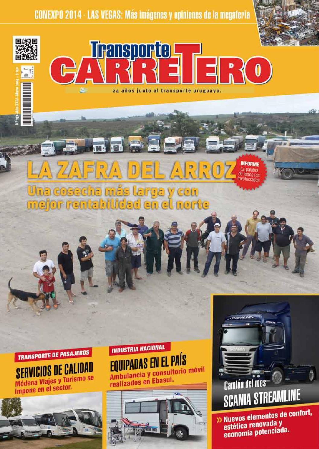 Transporte Carretero Nº 231 - mayo 2014 by Diseño Producciones - issuu
