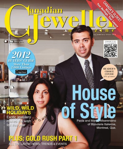261351e75fb9e Canadian Jeweller Magazine - September October 2011 by Canadian ...