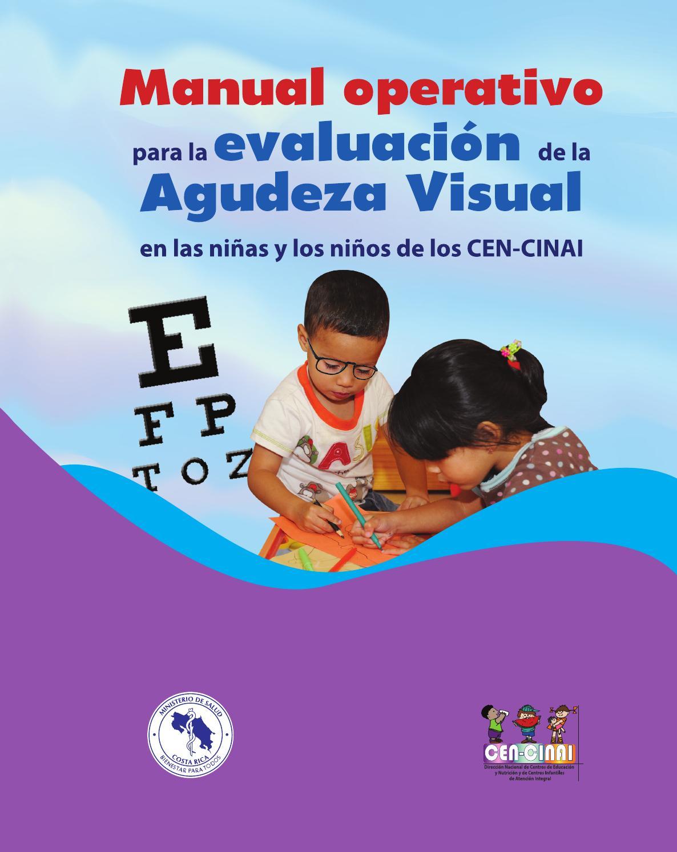 Evaluación de la agudeza visual by UTIC CEN-CINAI - issuu