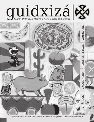 Revista Guidxiza 17 By Revista Guidxiza Nacion Zapoteca Issuu