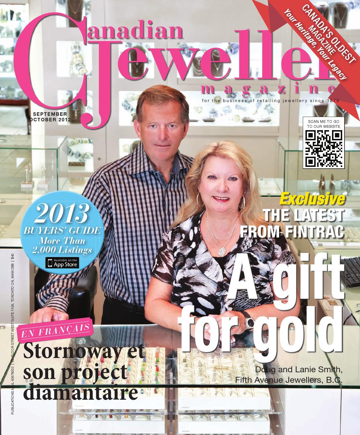 Canadian Jeweller Magazine - September/October 2012 by Canadian Jeweller  Magazine - issuu