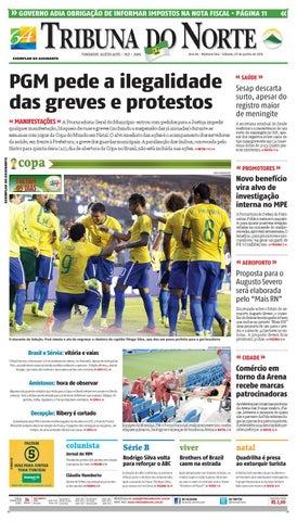 1bdb677e3b Tribuna do Norte - 07 06 2014 by Empresa Jornalística Tribuna do ...