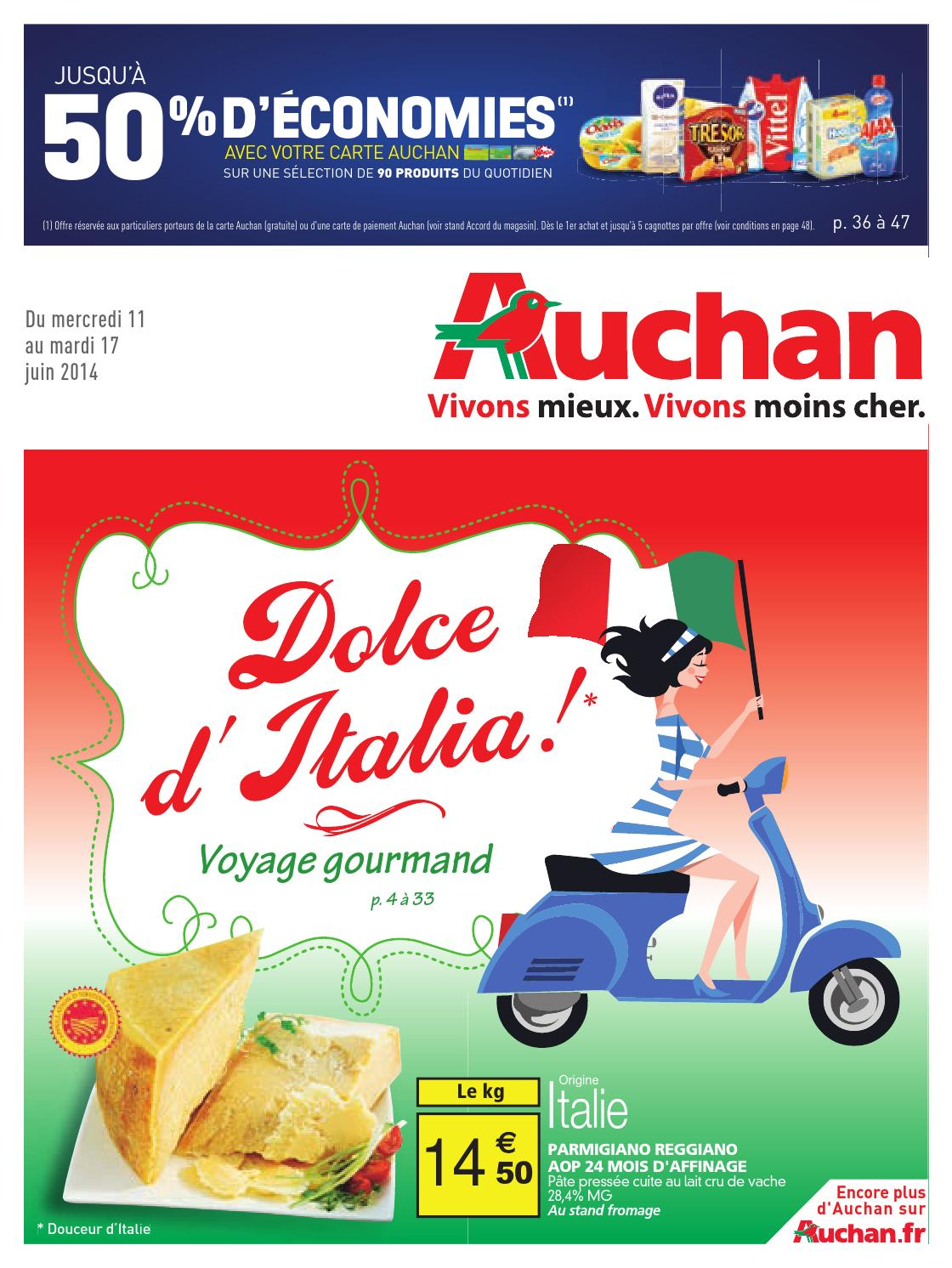 Carte Auchan Bloque.Catalogue Auchan Du 11 Au 17 Juin By Anti Crise Fr Issuu
