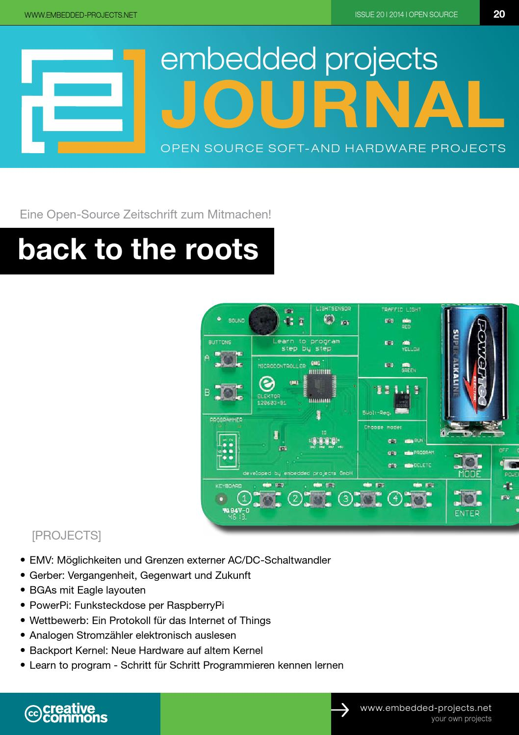 embedded projects Journal Ausgabe 20 by embedded projects GmbH - issuu