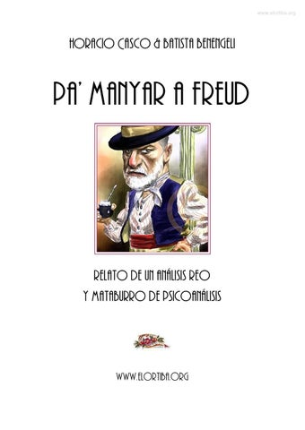 Horacio Casco   Batista Benengeli - Pa  manyar a Freud by Horacio ... aeaf79c5a99b9