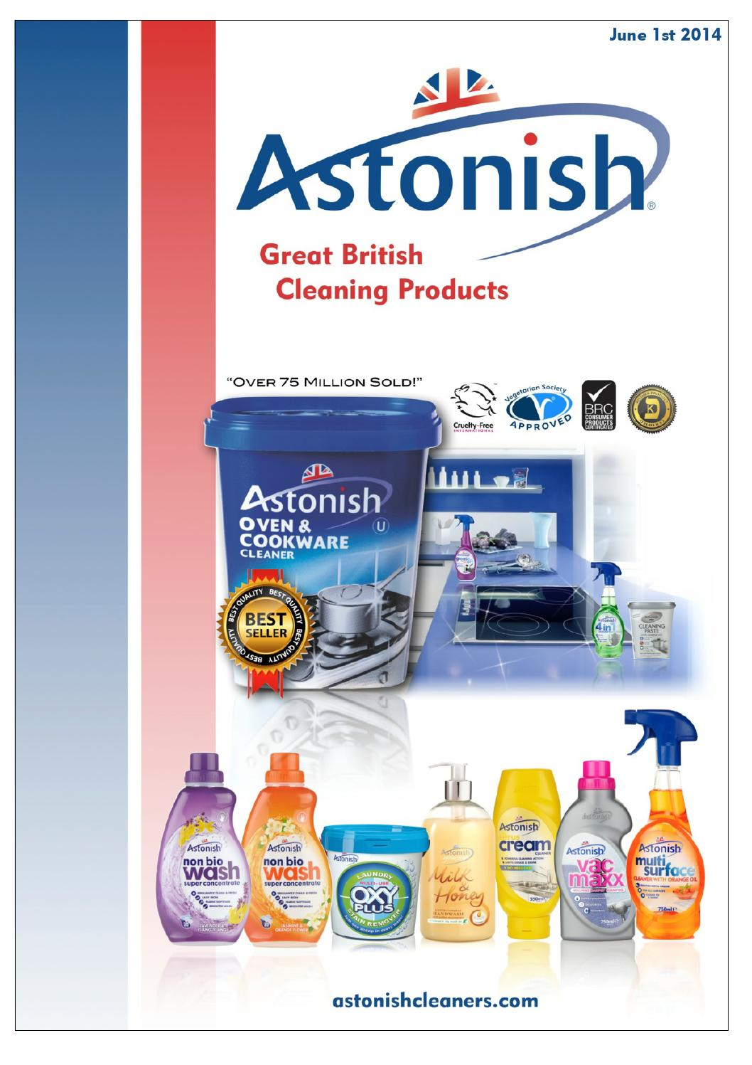 Astonish Bathroom Cleaner -