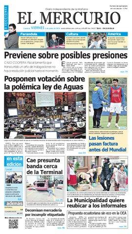 2612a5cfad6f hemeroteca 06-06-2014 by Diario El Mercurio Cuenca - issuu