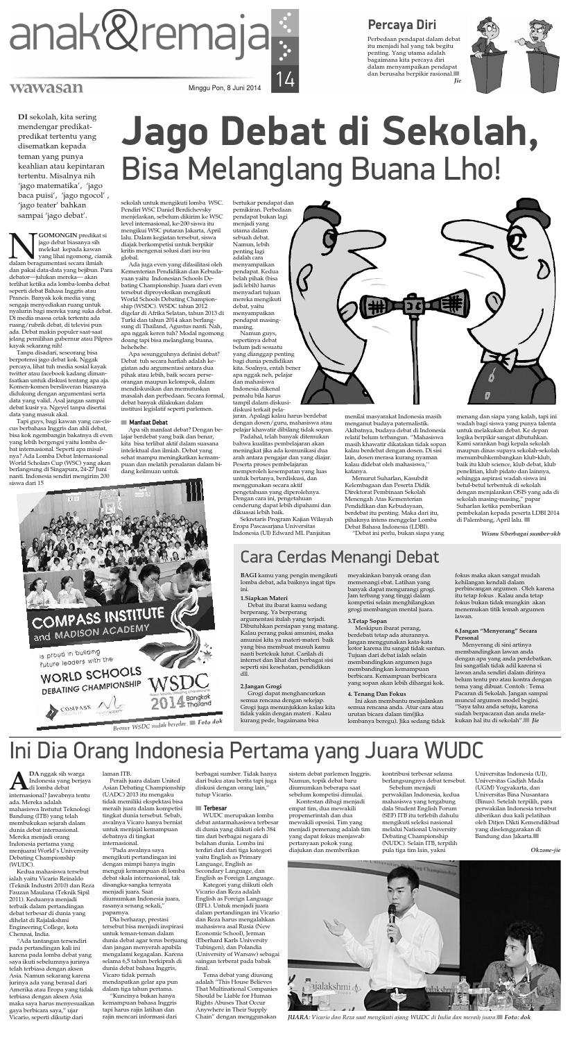 Wawasan 08 Juni 2014 By Koran Pagi Wawasan Issuu