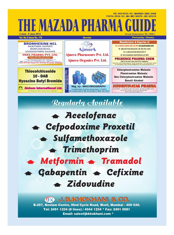 The Mazada Pharma Guide 2nd June - 8 June 2014 by The Mazada Pharma