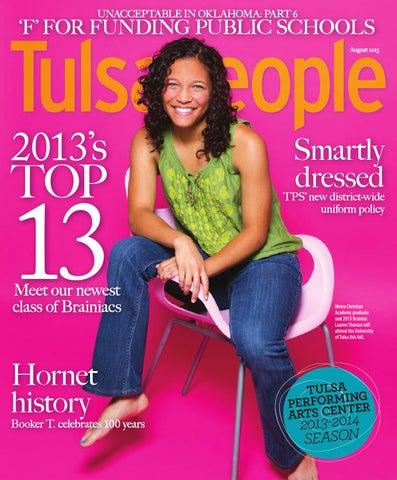Tulsapeople August 2013 By Tulsapeople Issuu
