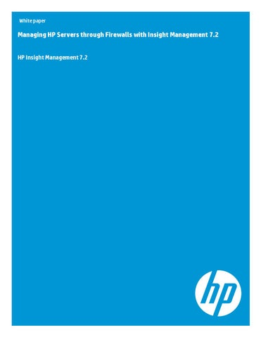 Install The Hp Insight Management Wbem Providers For Windows