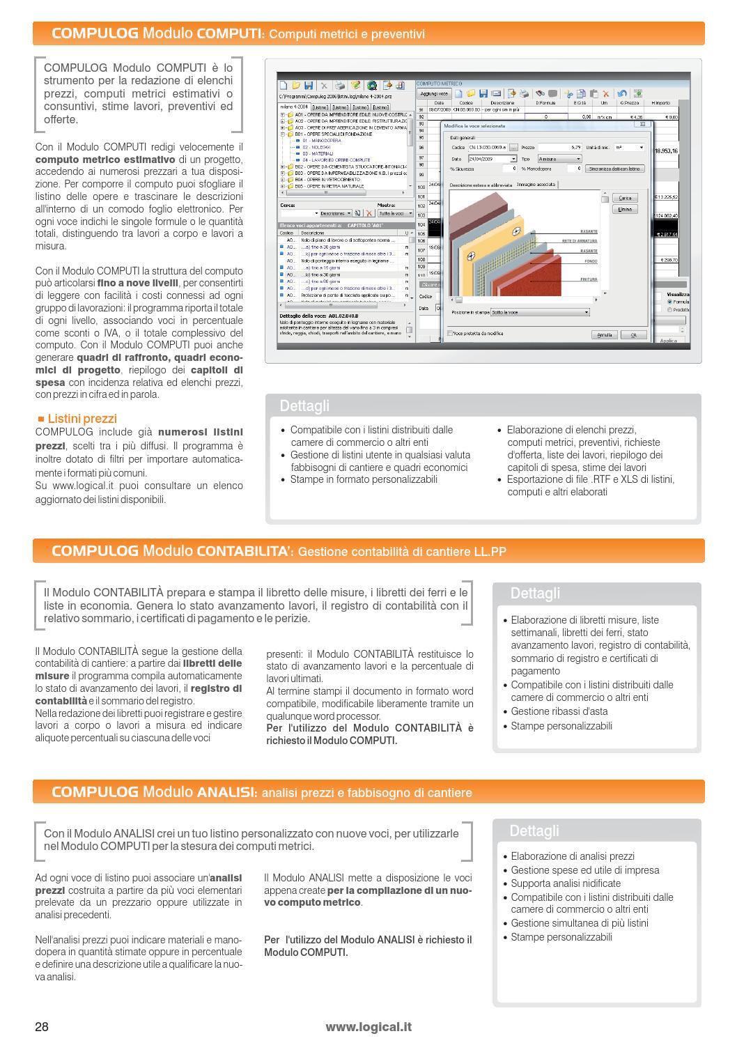 Catalogo Prodotti 2014 By Logical Soft Issuu