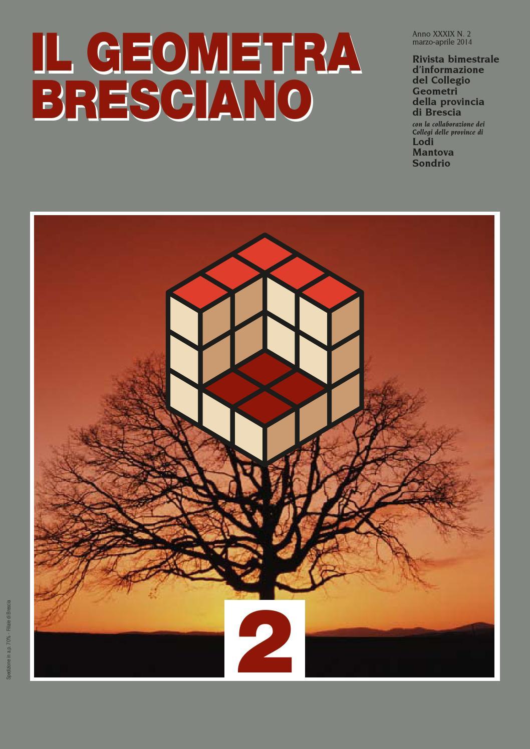 Il Geometra Bresciano - n.2 del 2014 by EMMEDIGI Pubblicità - issuu 5459331fd20