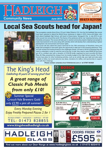 Hadleigh Community News June 2014 By Keith Avis Printers