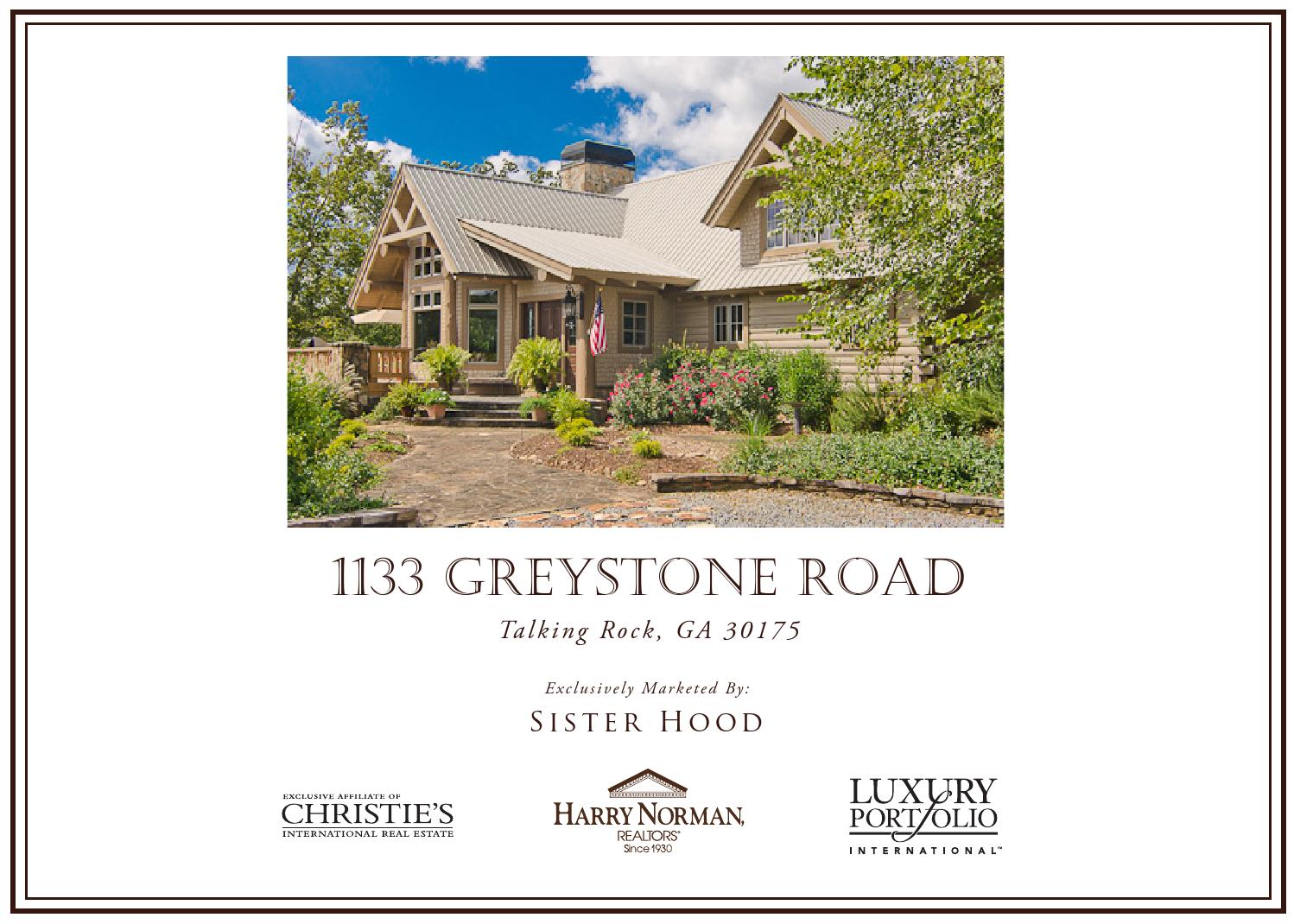 1133 Greystone Road by Harry Norman - Buckhead NW Office ...
