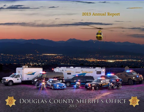 2013 Annual Report DCSO by Douglas County Sheriff's Office - issuu