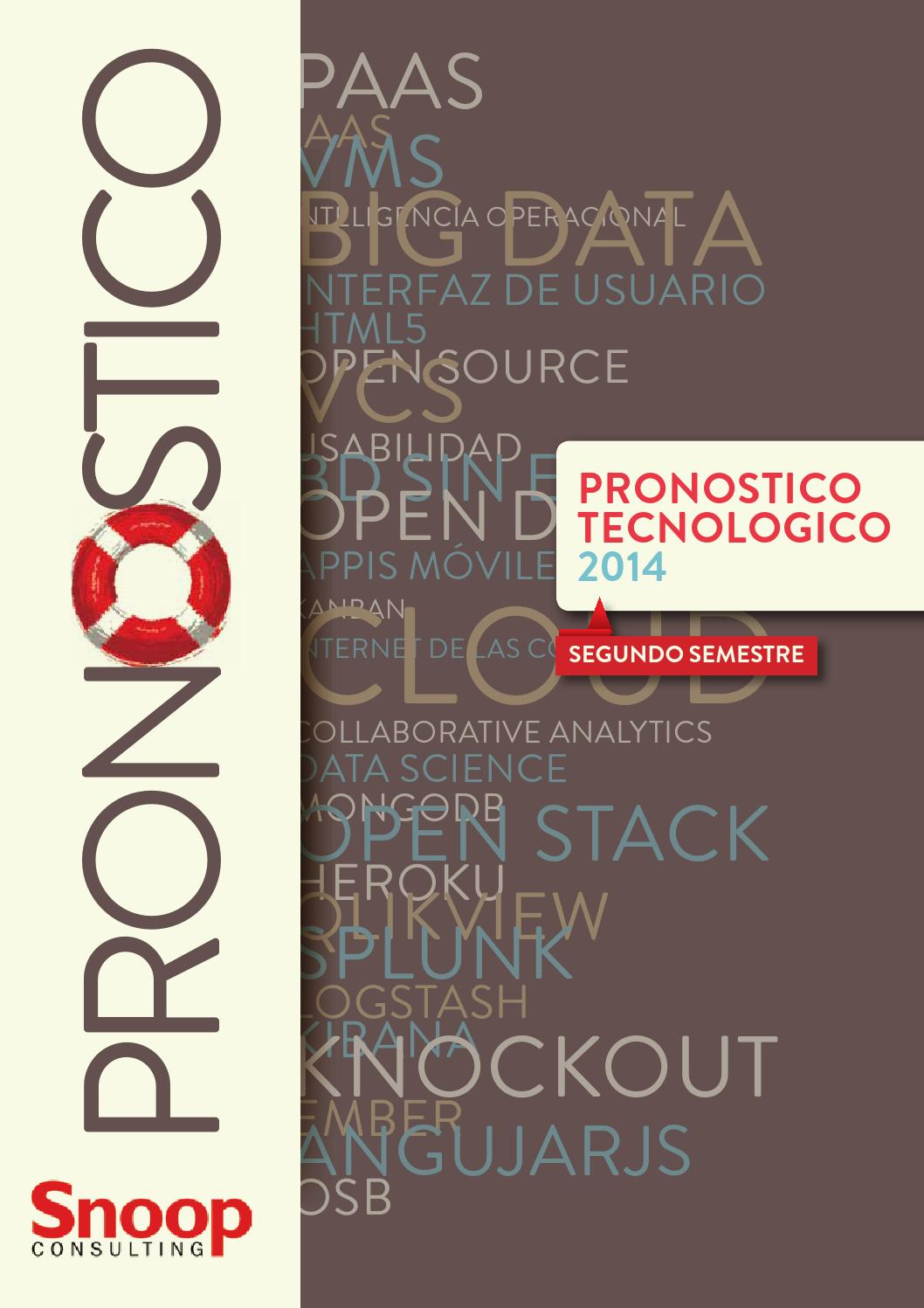 Pronóstico Tecnológico- Snoop Consulting by snoopconsulting - issuu