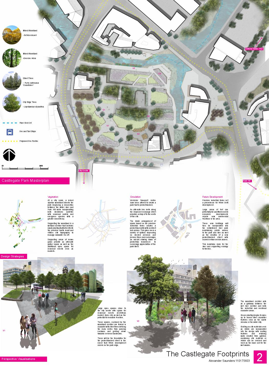 Castlegate integrated design project ba landscape for Landscape design sheets