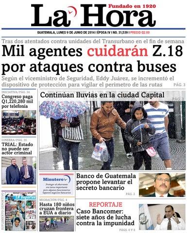 Diario La Hora 09-06-2014 by La Hora - issuu 79a050a509ff3