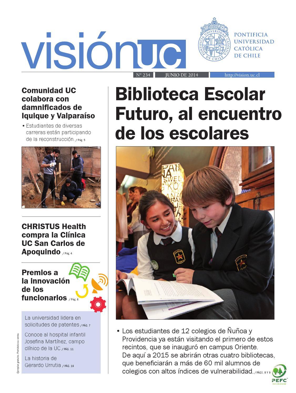 Visión UC N°234 by Publicaciones UC - issuu
