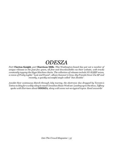 Page 35 of Interview: Odesza