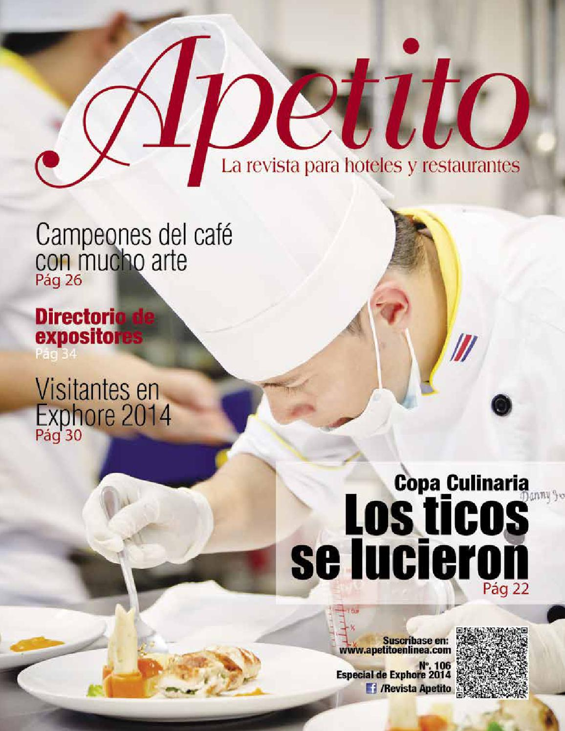 Apetito 106 Especial de Exphore 2014 by EKA Consultores - issuu