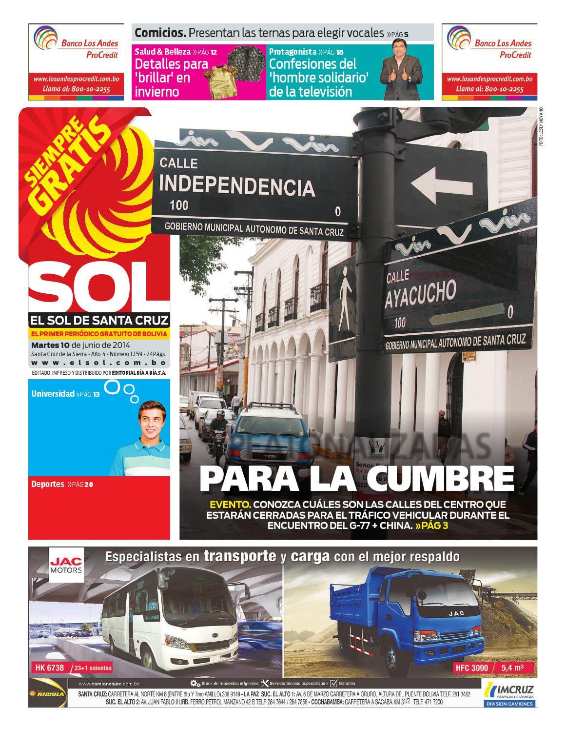 El Sol 10-06-2014 by El Dia - issuu