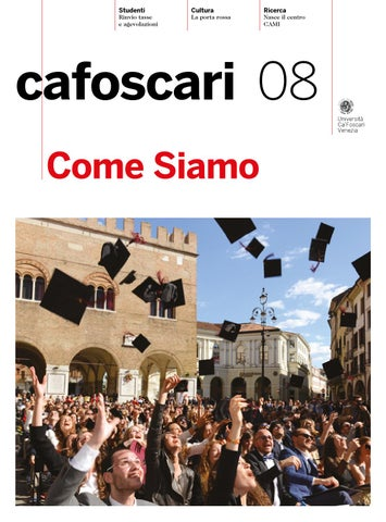 Ca Foscari Calendario Accademico.Cafoscari 08 By Universita Ca Foscari Venezia Issuu
