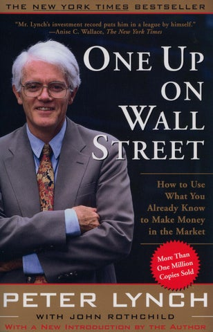 Peter lynch one up on wall street complete by sivakumar issuu page 1 fandeluxe Choice Image