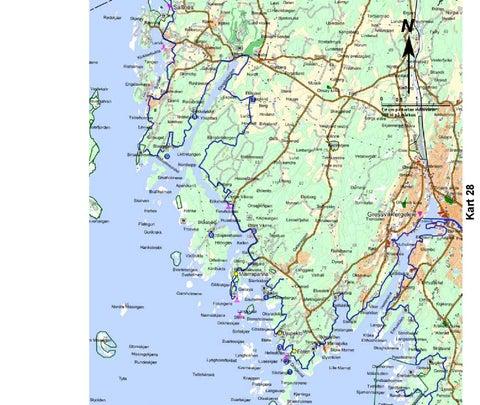 kart over bohuslän Kuststigen • Kyststien   Bohuslän, Østfold og Akershus by Akershus  kart over bohuslän