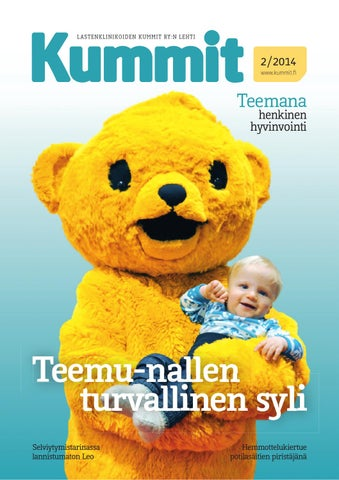 Kummit-lehti 1 2013 by Lastenklinikoiden Kummit - issuu 9680675e15