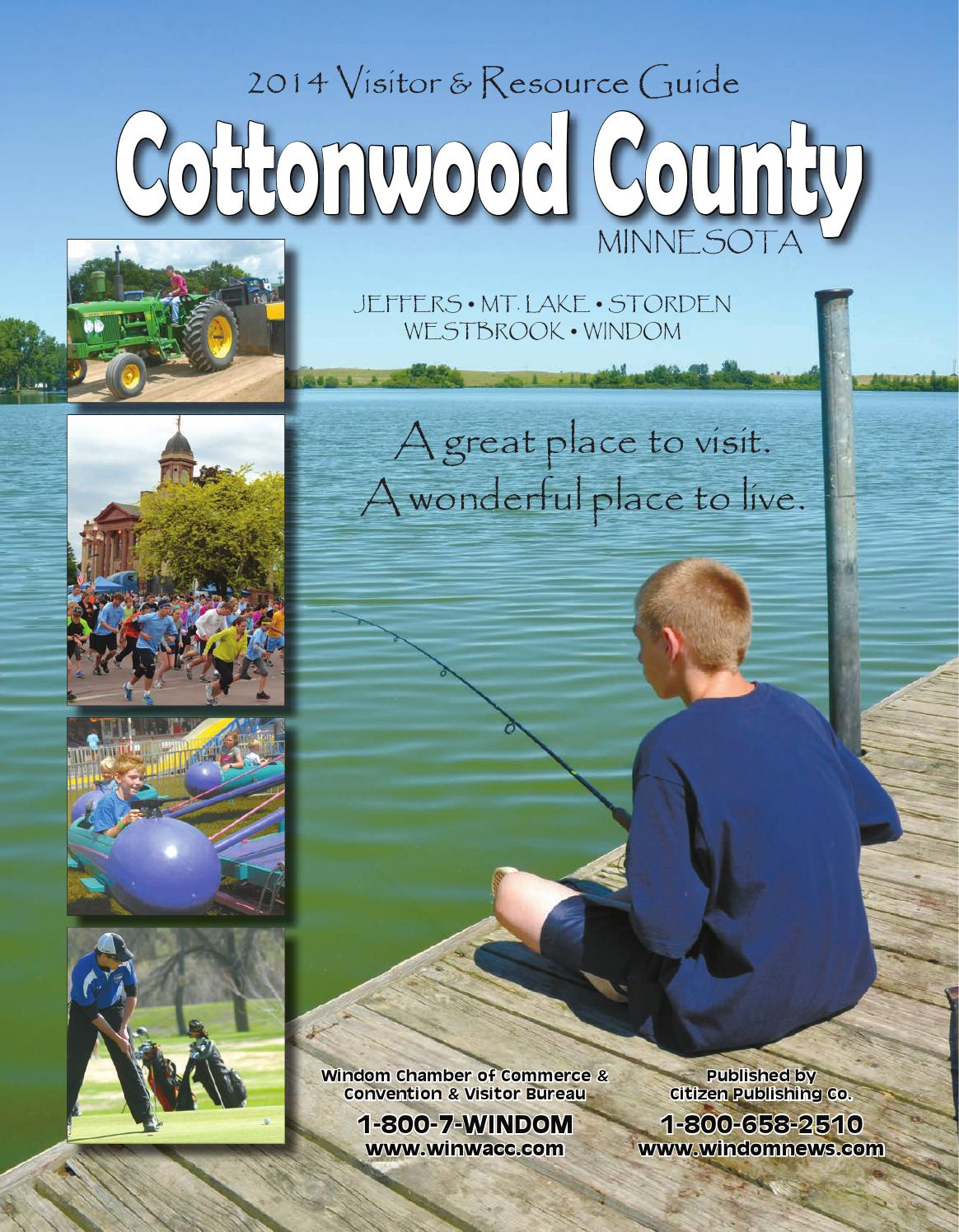 cottonwood county visitors guide by citizen issuu