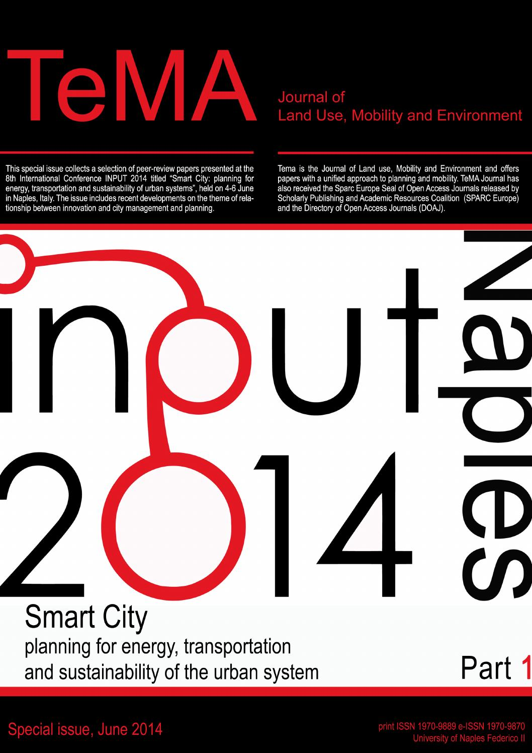 Tema Input2014 Part 1 Papers 1 28 By Rocco Papa Issuu